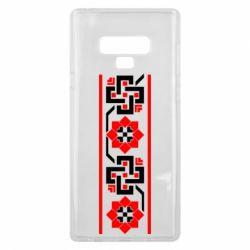 Чехол для Samsung Note 9 Украiiнський орнамент - FatLine