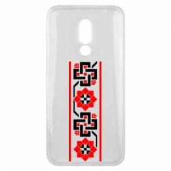 Чехол для Meizu 16x Украiiнський орнамент - FatLine