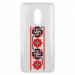 Чехол для Meizu 16 plus Украiiнський орнамент - FatLine