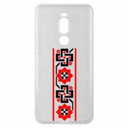 Чехол для Meizu Note 8 Украiiнський орнамент - FatLine