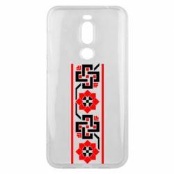 Чехол для Meizu X8 Украiiнський орнамент - FatLine