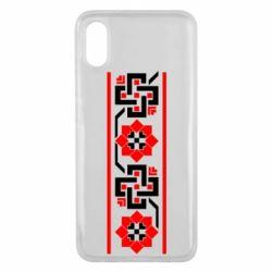 Чехол для Xiaomi Mi8 Pro Украiiнський орнамент - FatLine