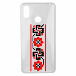 Чехол для Xiaomi Mi Max 3 Украiiнський орнамент - FatLine