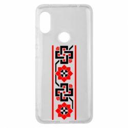 Чехол для Xiaomi Redmi Note 6 Pro Украiiнський орнамент - FatLine