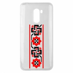 Чехол для Xiaomi Pocophone F1 Украiiнський орнамент - FatLine