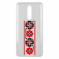 Чехол для Nokia 8 Украiiнський орнамент - FatLine