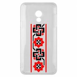 Чехол для Meizu 15 Lite Украiiнський орнамент - FatLine