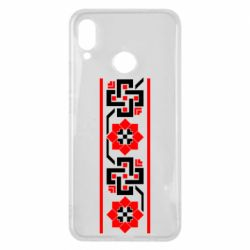 Чехол для Huawei P Smart Plus Украiiнський орнамент - FatLine
