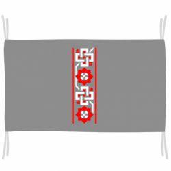 Прапор Украіінський орнамент