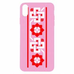 Чехол для iPhone X Украiiнський орнамент - FatLine