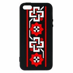 Чехол для iPhone5/5S/SE Украiiнський орнамент - FatLine