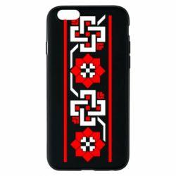 Чехол для iPhone 6/6S Украiiнський орнамент - FatLine
