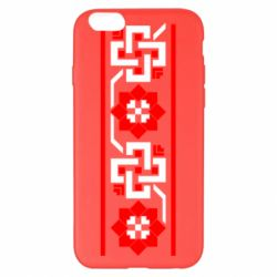 Чехол для iPhone 6 Plus/6S Plus Украiiнський орнамент - FatLine