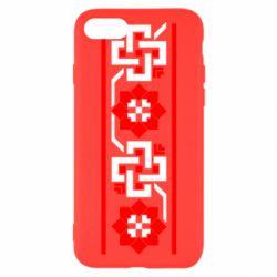 Чехол для iPhone 7 Украiiнський орнамент - FatLine