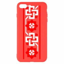 Чехол для iPhone 8 Plus Украiiнський орнамент - FatLine