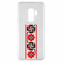 Чехол для Samsung S9+ Украiiнський орнамент - FatLine