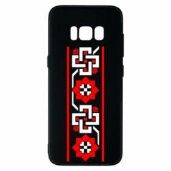Чехол для Samsung S8 Украiiнський орнамент - FatLine