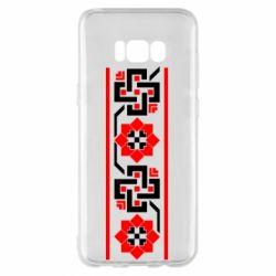 Чехол для Samsung S8+ Украiiнський орнамент - FatLine