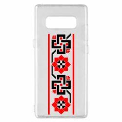 Чехол для Samsung Note 8 Украiiнський орнамент - FatLine