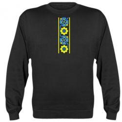 Реглан (свитшот) Украiiнський орнамент - FatLine