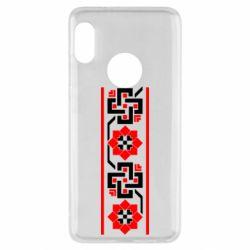 Чехол для Xiaomi Redmi Note 5 Украiiнський орнамент - FatLine