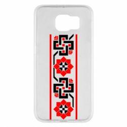 Чехол для Samsung S6 Украiiнський орнамент - FatLine