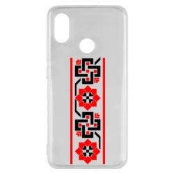 Чехол для Xiaomi Mi8 Украiiнський орнамент - FatLine