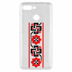 Чехол для Xiaomi Redmi 6 Украiiнський орнамент - FatLine