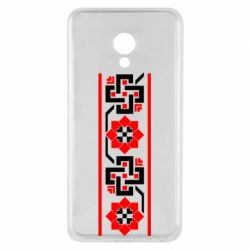Чехол для Meizu M5 Украiiнський орнамент - FatLine