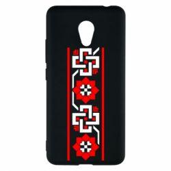 Чехол для Meizu M5c Украiiнський орнамент - FatLine