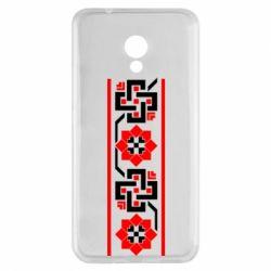 Чехол для Meizu M5s Украiiнський орнамент - FatLine
