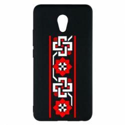 Чехол для Meizu M5 Note Украiiнський орнамент - FatLine