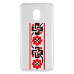 Чехол для Meizu M6 Украiiнський орнамент - FatLine