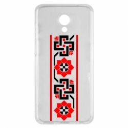 Чехол для Meizu M6s Украiiнський орнамент - FatLine