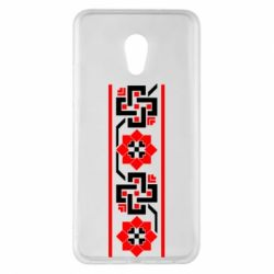 Чехол для Meizu Pro 6 Plus Украiiнський орнамент - FatLine