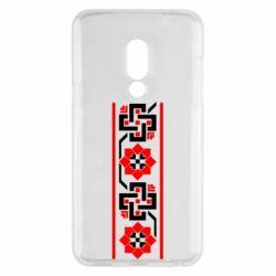 Чехол для Meizu 15 Украiiнський орнамент - FatLine