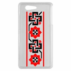 Чехол для Sony Xperia Z3 mini Украiiнський орнамент - FatLine