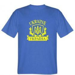Мужская футболка Україна ненька - FatLine