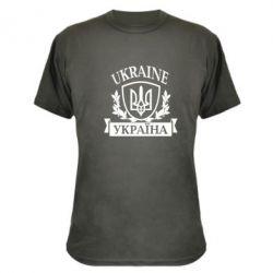 Камуфляжная футболка Україна ненька - FatLine