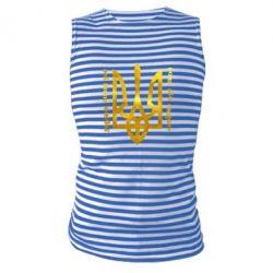 Майка-тельняшка Украина превыше всего! Свобода или смерть! Голограмма