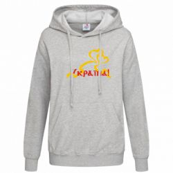 Женская толстовка Україна у серці - FatLine
