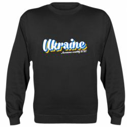 Реглан (свитшот) Ukraine  awesome country 2020