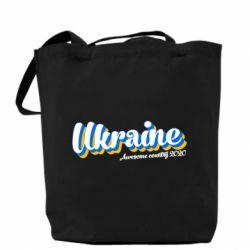 Сумка Ukraine  awesome country 2020