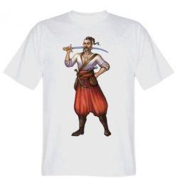 Мужская футболка Ukraine Cossak - FatLine