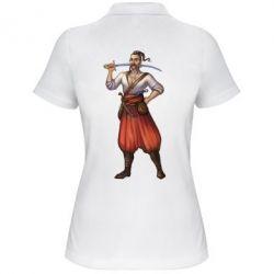 Женская футболка поло Ukraine Cossak - FatLine