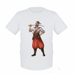 Детская футболка Ukraine Cossak - FatLine