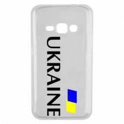 Чехол для Samsung J1 2016 UKRAINE FLAG
