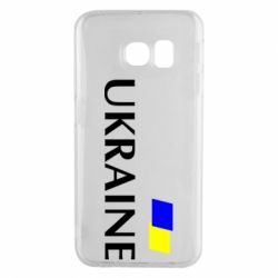 Чехол для Samsung S6 EDGE UKRAINE FLAG