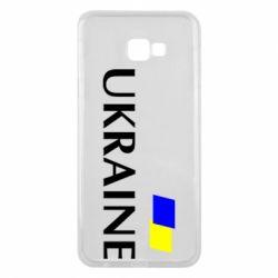 Чехол для Samsung J4 Plus 2018 UKRAINE FLAG