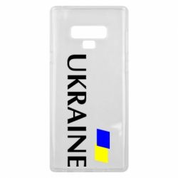 Чохол для Samsung Note 9 FLAG UKRAINE